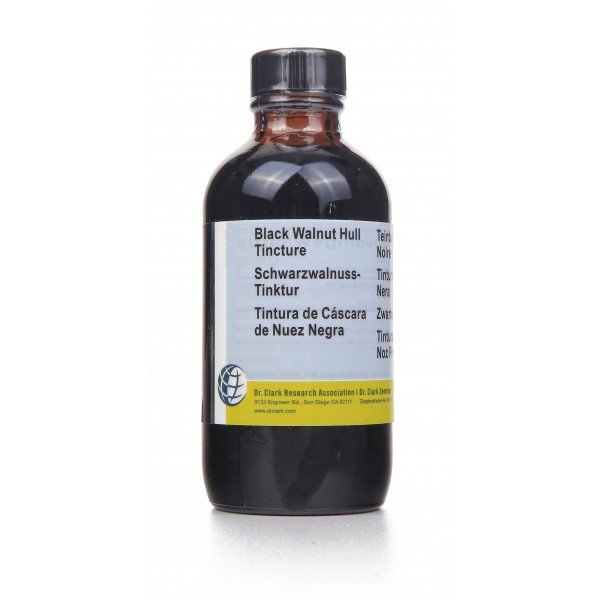 Black Walnut Hull Tincture For Parasite Cleanse